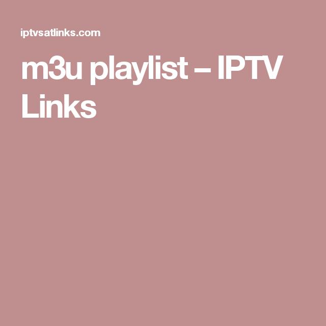 m3u playlist – IPTV Links | M3u