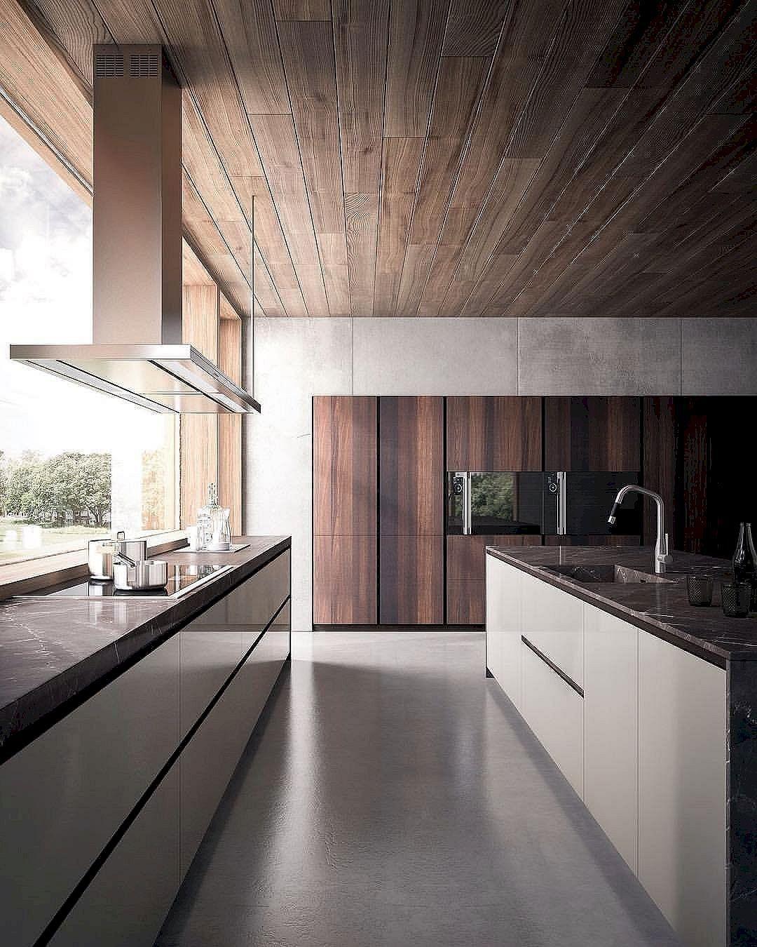 12 Nice Ideas for Your Modern Kitchen Design | Moderne häuser, Küche ...