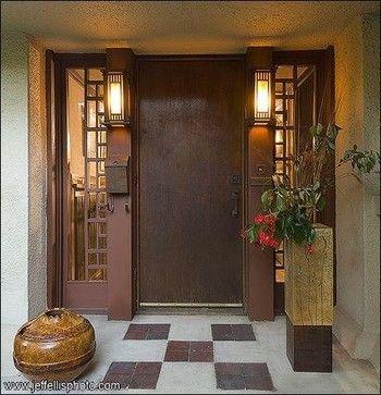 Frank Lloyd Wright Door Design Door Design Frank Lloyd