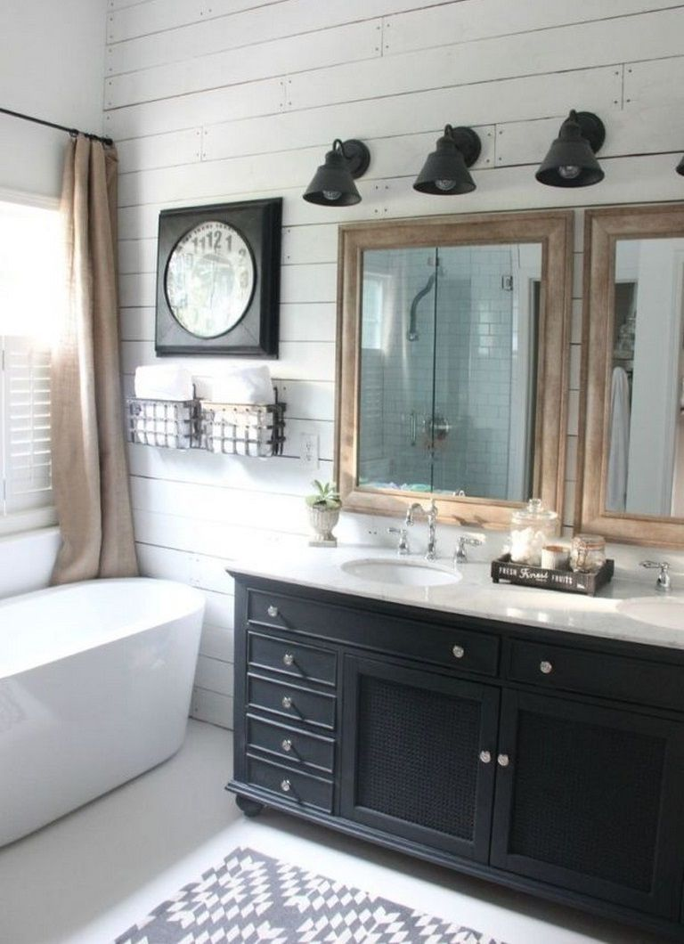 Photo of 8 Classy Farmhouse Bathroom Ideas