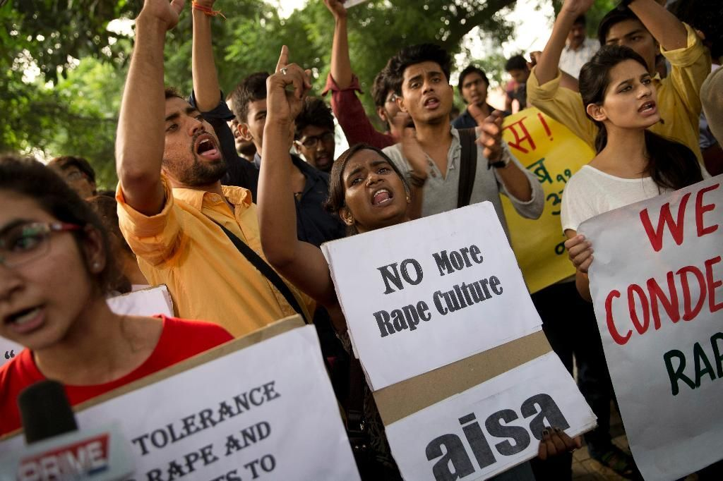 Police arrested two teenagers Sunday for allegedly raping a toddler in New Delhi, in the latest incident of sexual violence against a young child in the Indian capital.