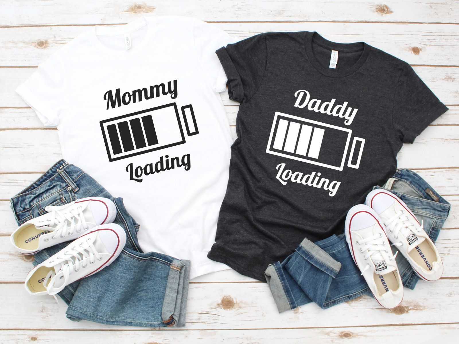 Mommy Loading, Daddy Loading, New Mom Gift, Gift For New Mom