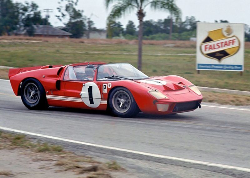 1969 24 Hours Of Daytona Race Profile Ford Gt Ford Gt40
