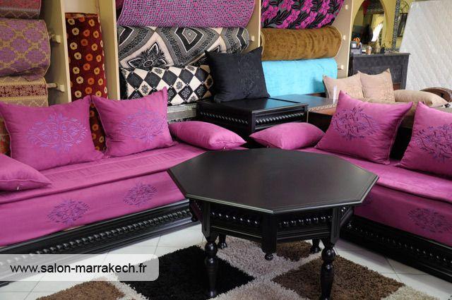 1000 images about salons marocains moroccan living room on pinterest casablanca purple gold and diy bed frame - Model Salon Moderne Marocain