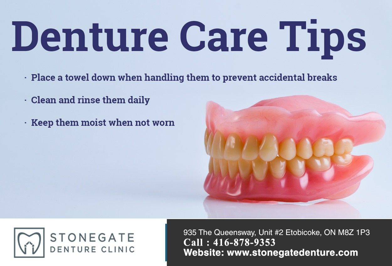 How To Keep Food From Getting Under Your Dentures