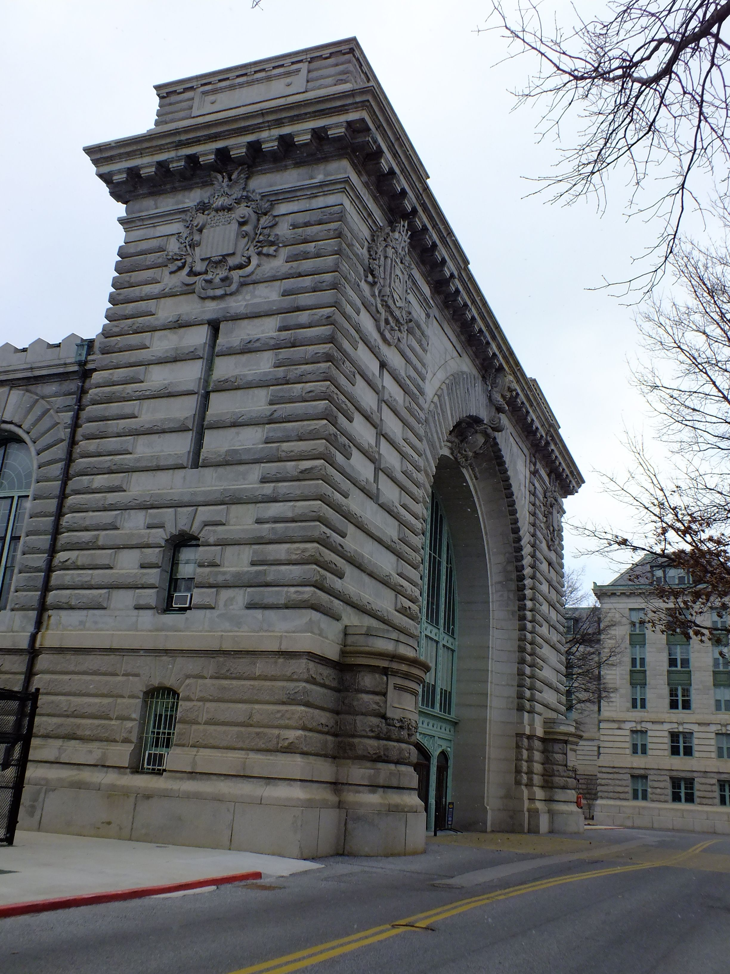 United States Naval Academy Luce Hall Original Building Of