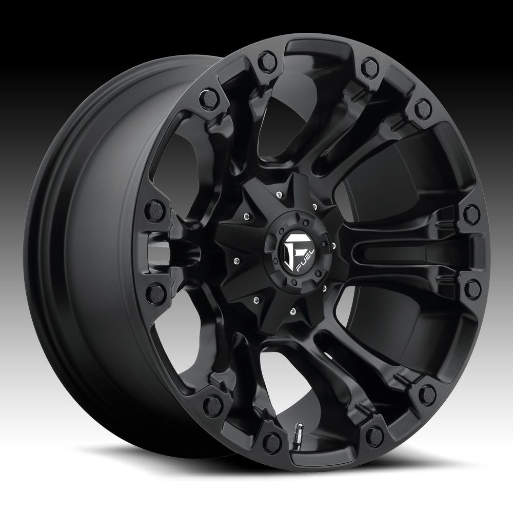 Jeep Wrangler Rims And Tire Packages >> Fuel Vapor D560 Matte Black Custom Truck Wheels Rims ...