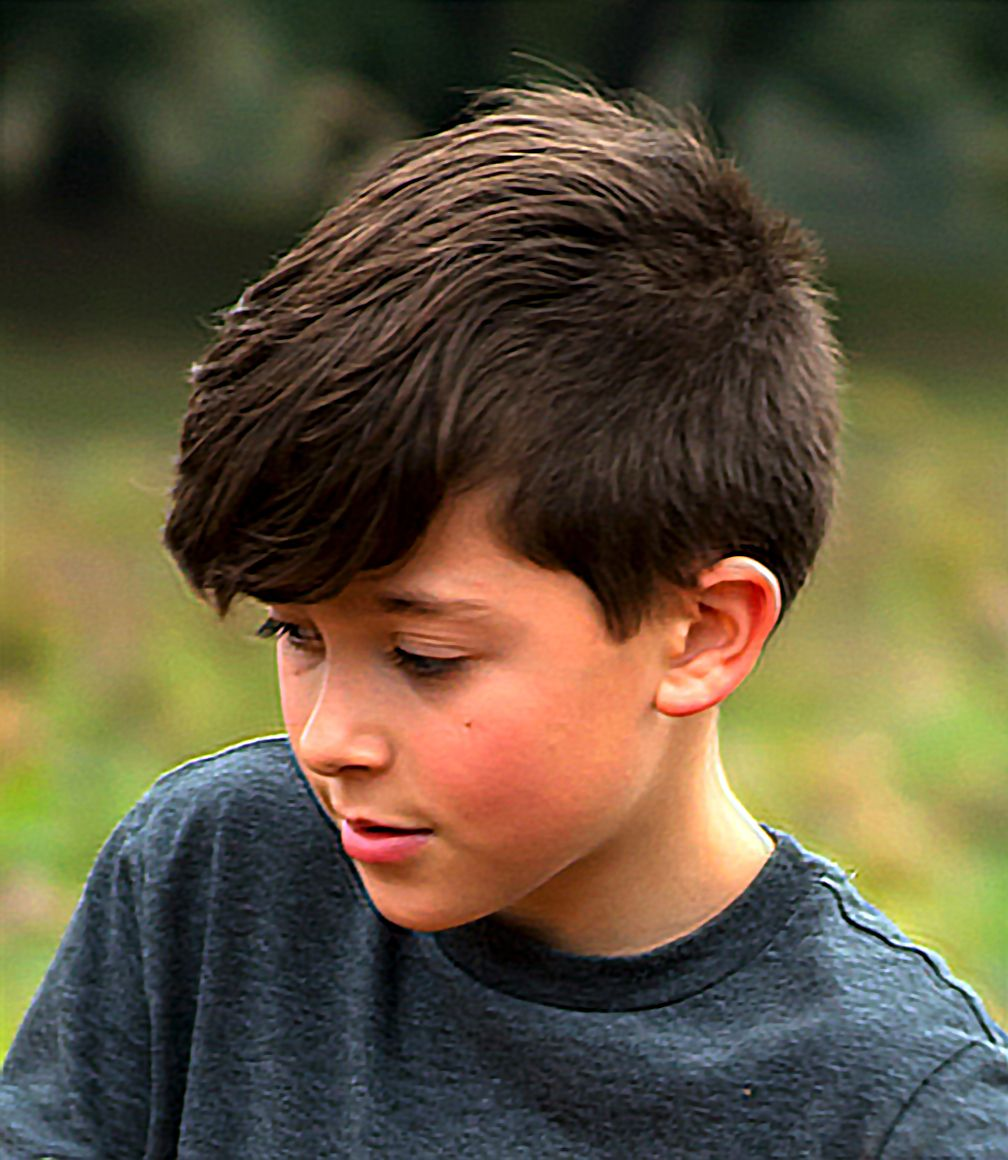 Boy hairstyle long on top short sides long top  boy hairstyles  pinterest  short sides