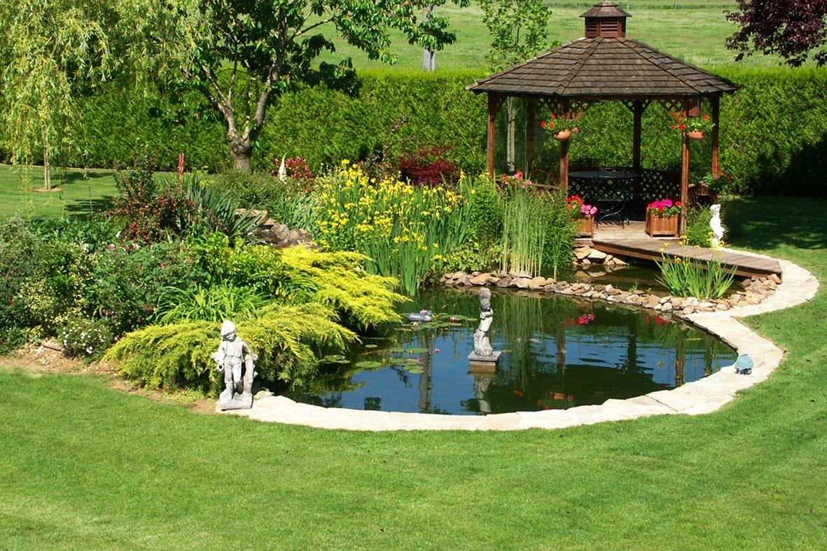"""résultat de recherche d'images pour """"kiosque de jardin et bassin"""