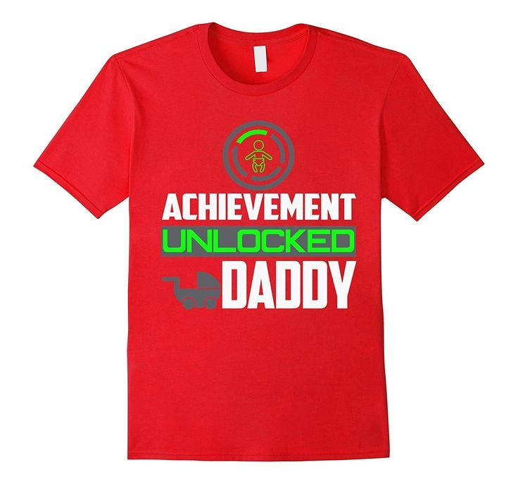 Achievement unlocked daddy funny gift for new dad