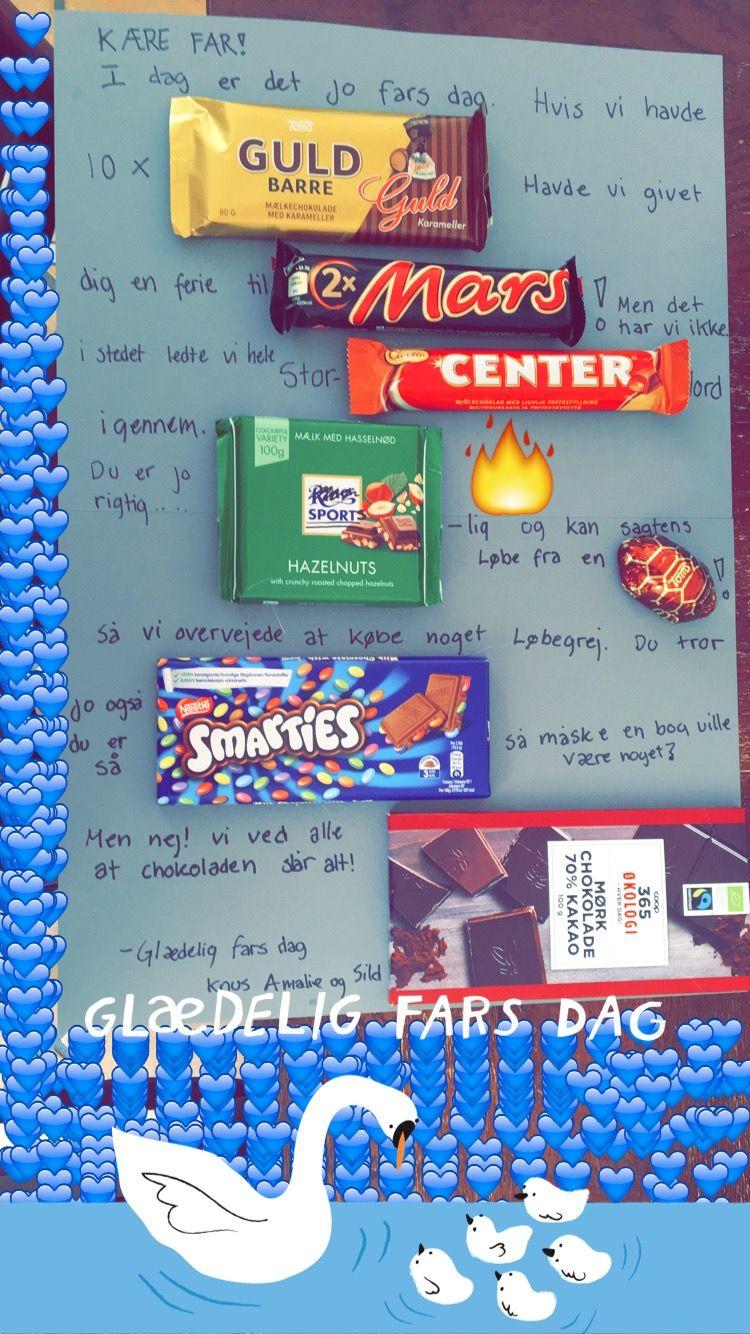 Sød Farsdags gave til ham der elsker chokolade | Gaveideer