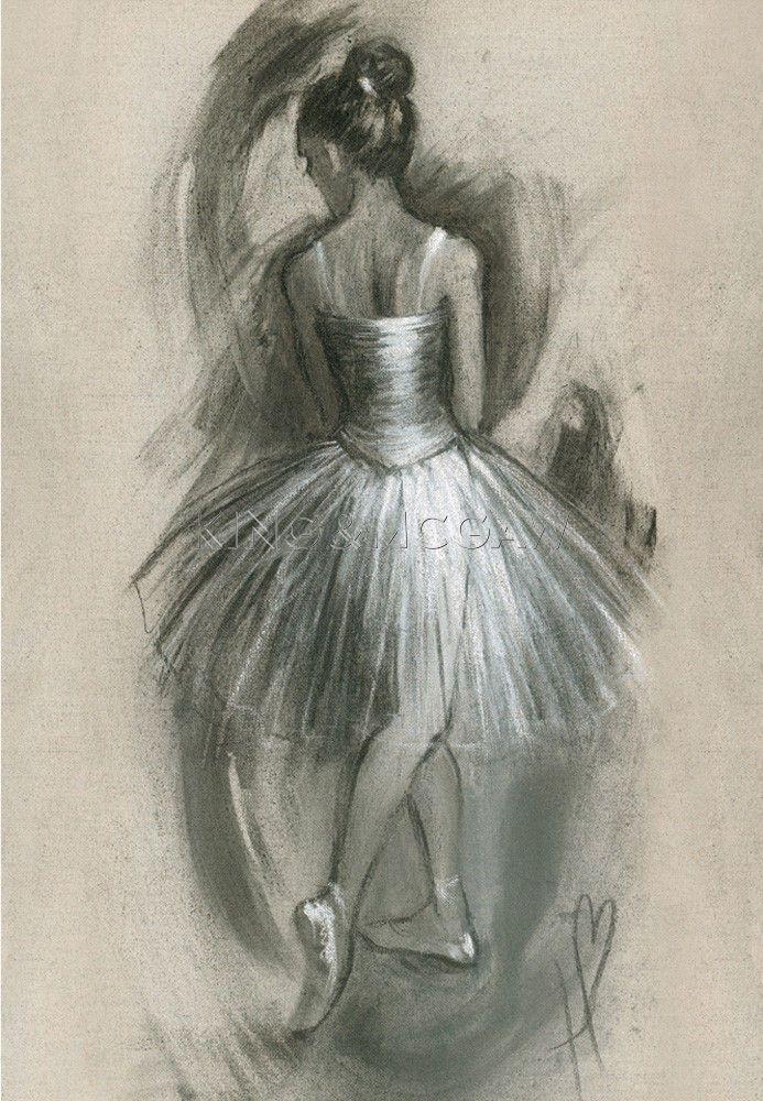 Art Print ballerina Hazel Bowman