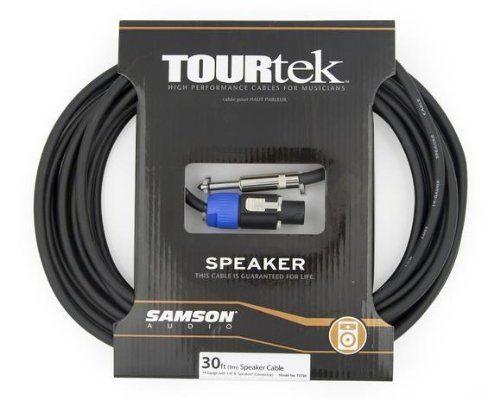 Samson Technologies Tst 30 30 Feet Speaker Cable 1 4 Inch And Speakon Connector By Samson Technologies 49 99 For Deliv Speaker Cable Speaker Cables Speaker