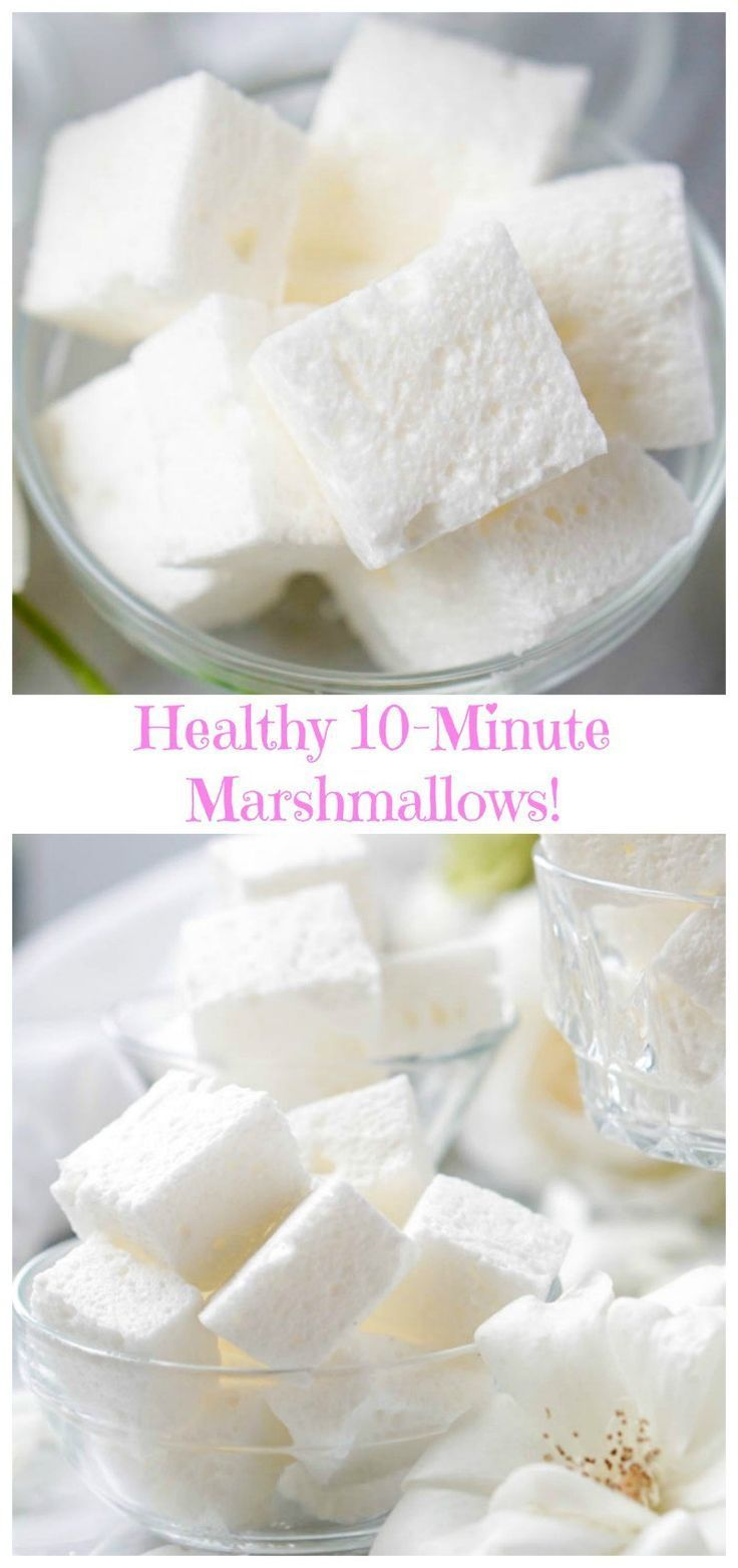 Healthy Marshmallows #healthymarshmallows Healthy Marshmallows #healthymarshmallows