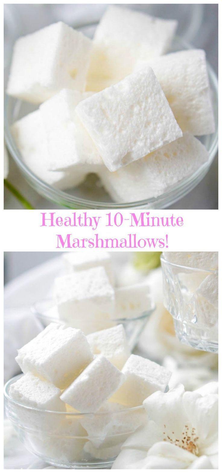 Healthy Marshmallows #healthymarshmallows Healthy Marshmallows #healthymarshmallows