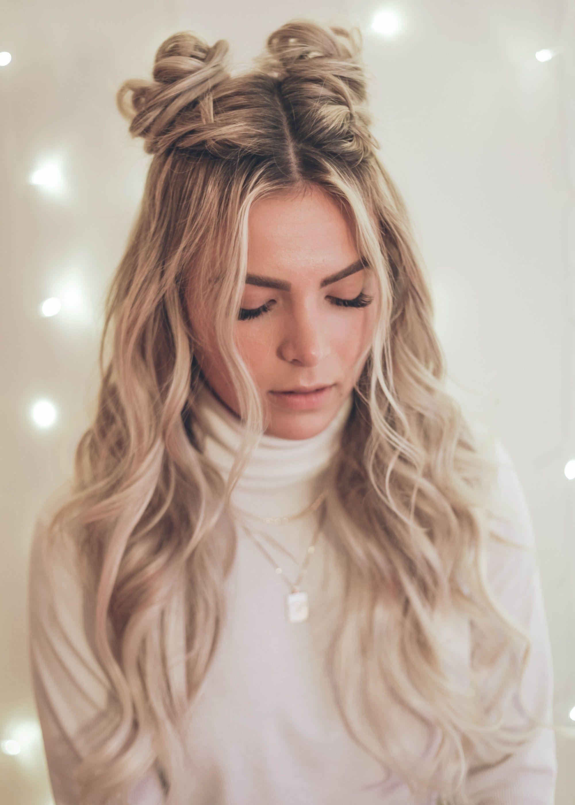 Space Buns Kassinka Hair Styles Bun Hairstyles Braided Space Buns