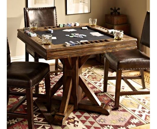 Card Table Home And Garden Design Ideas Game Room