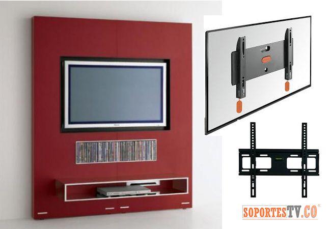 Soporte fijo para tv el soporte de televisor fijo en el for Muebles para colocar televisor