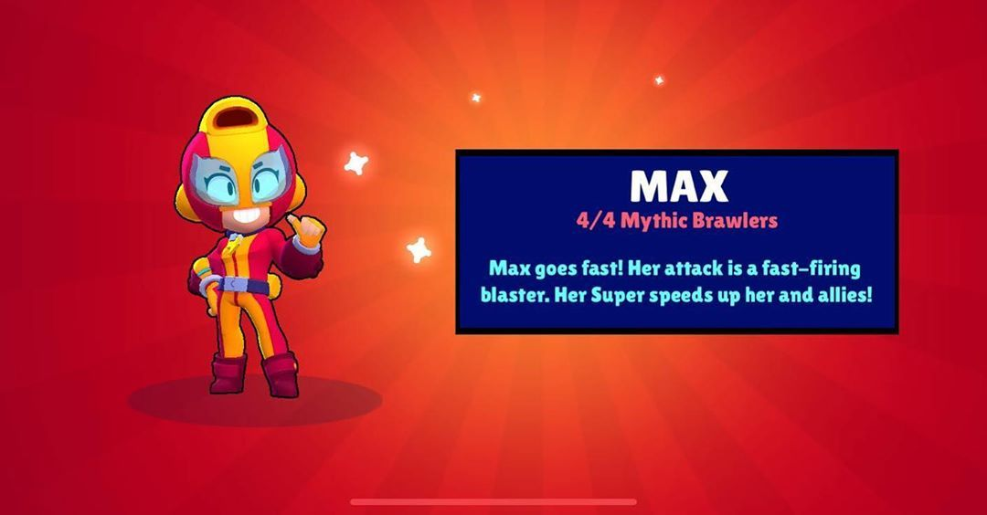 Like And Follow And You Will Get A New Brawler Max Brawlstars