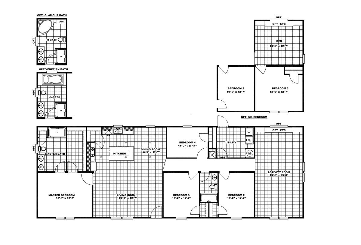 Pin By Heart Of Sarah On House Plans Mobile Home Floor Plans New Homes For Sale Clayton Homes