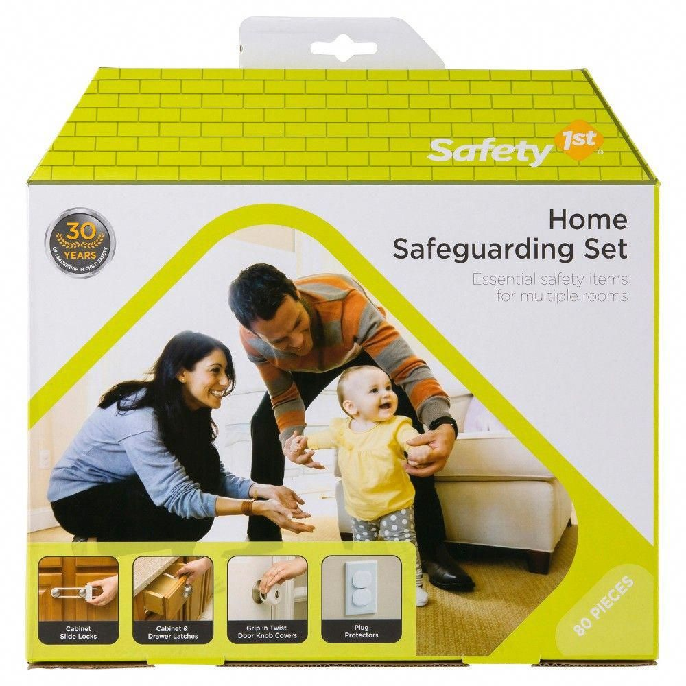 Safety 1st Home Safeguarding Set 80pc, White
