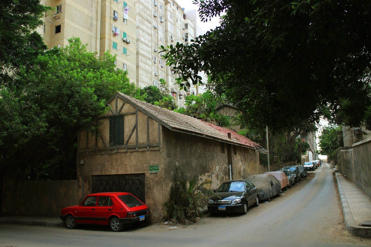 Saba Basha Street of Saba Basha District streets at Alexandria Taken ...