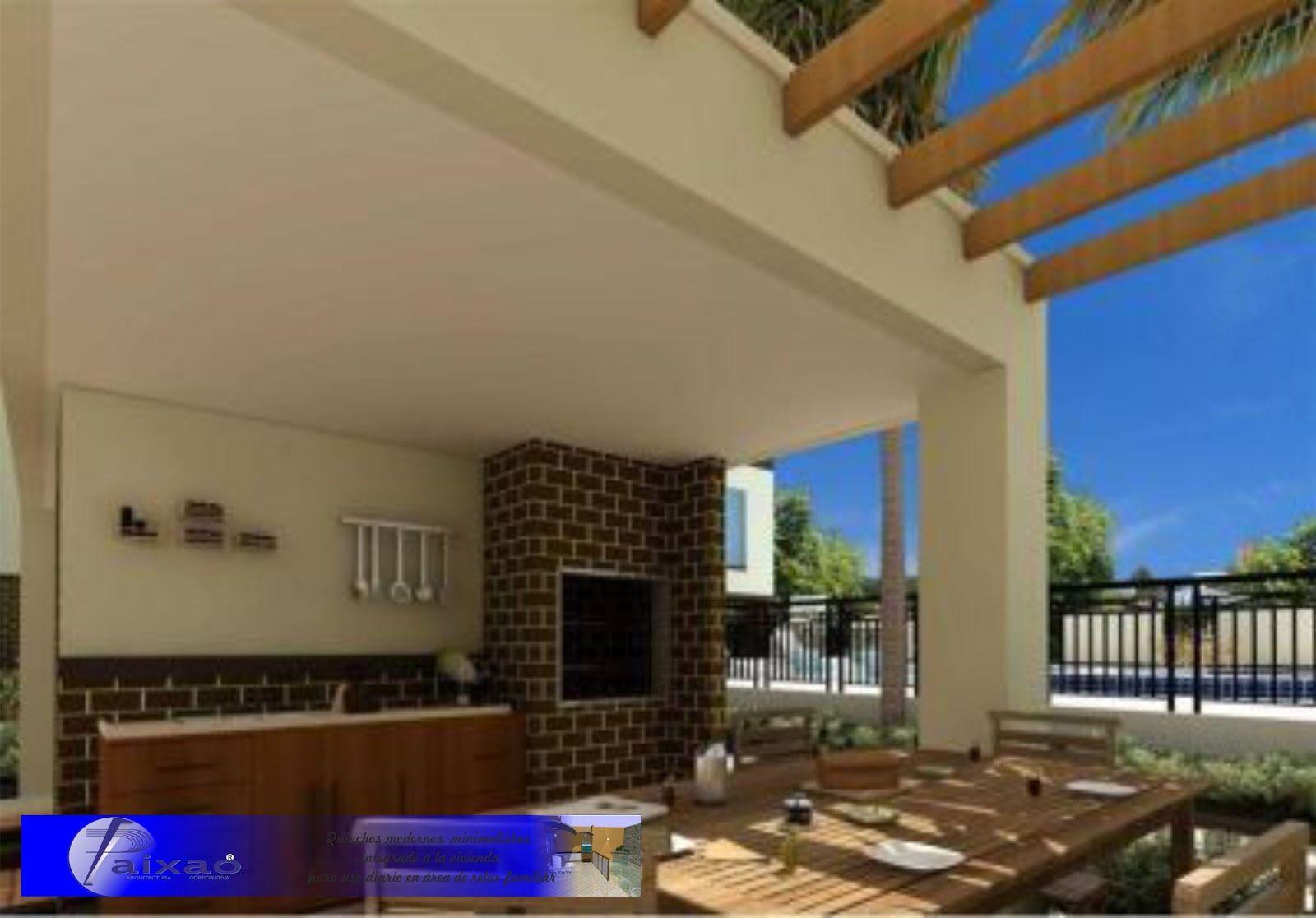 Ara construcciones en general quinchos minimalistas for Construcciones minimalistas