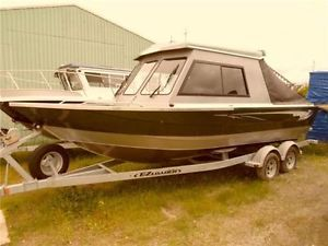 Kingfisher 22 Hard Top Aluminum Cottage And Fishing Boat Barrie Ontario Image 1 With Images Fishing Boats Power Boats Motor Boats