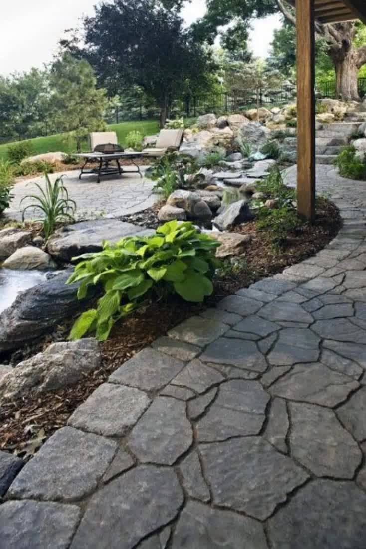 It's hard not to envision larger-than-life examples of boulder landscaping, with Stonehenge certainly figuring most prominently in terms of enduring popularity.After all, boulders are for the medieval titan, and hardly suitable implements for the modern landscaper or man of modest means, right? #nextluxury #homedesign #homedecor #homedecorideas