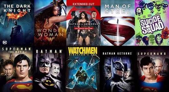 Картинки по запросу my top dc movies