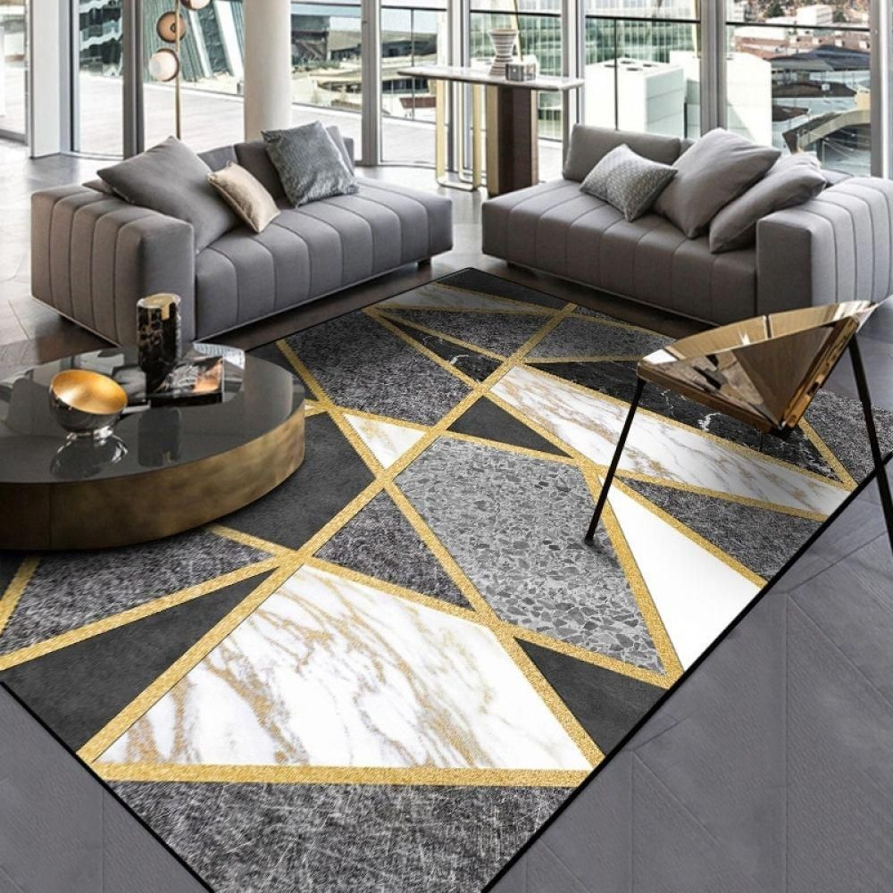 Pin By Theresia Schäfer On Gefällt Mir In 2020 Black And Gold Living Room Gold Living Room Decor Gold Living Room