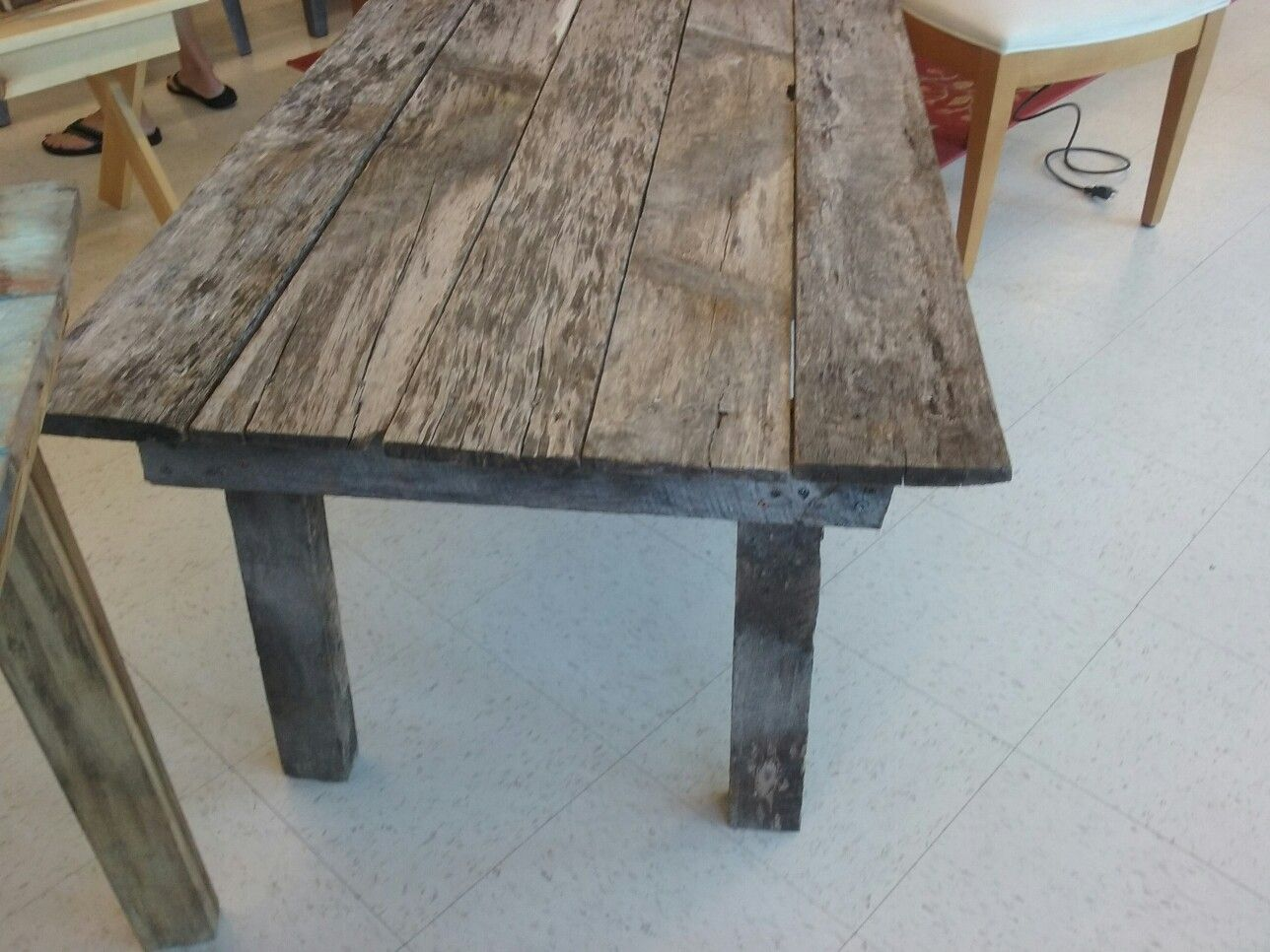 Primitive Coffee Table Made From Ashwood Primitive Coffee Table