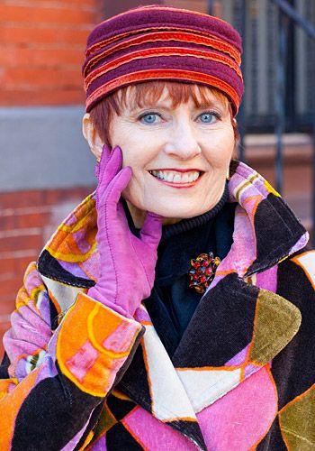 """Blogger Ari Seth Cohen fotografiert in NY Senioren-Trendsetter. """"Streetstyle New York""""."""