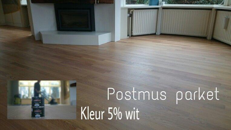 Zeven kleuren visgraat houten vloer frans eiken timber wooden