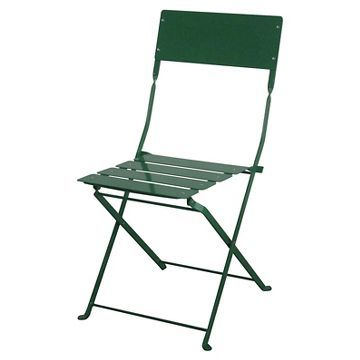 Pleasing Outdoor Metal Folding Chair Green Threshold Green Gmtry Best Dining Table And Chair Ideas Images Gmtryco