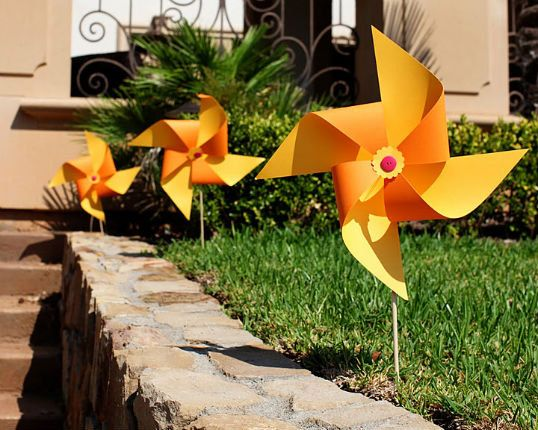 These Are X Large Yard Pinwheels Or Outdoor Pinwheels Perfect For