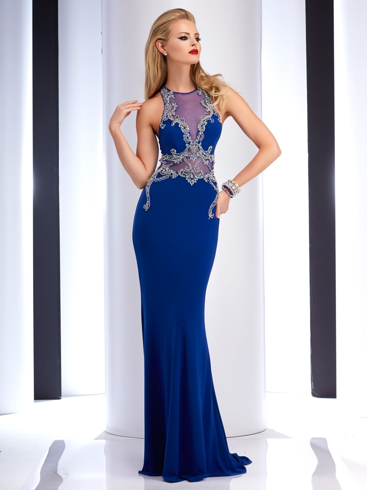 Clarisse prom dress prom royal blue and gowns