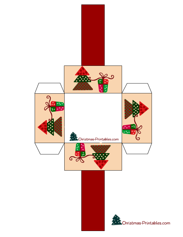 Diy Paper Craft Gift Basket For Christmas