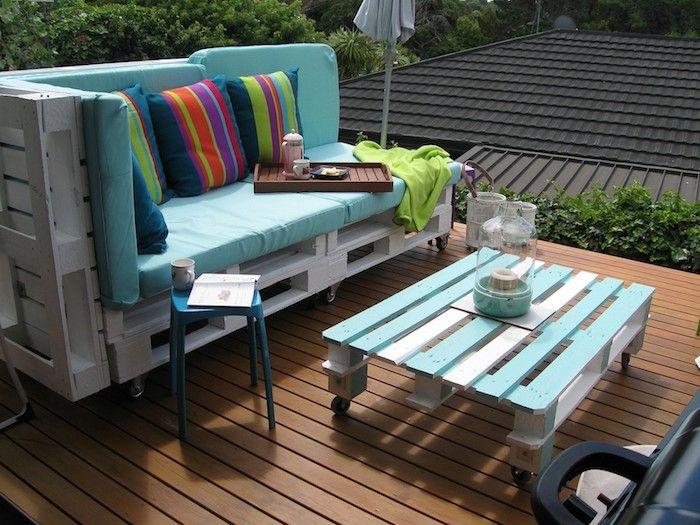 ▷ 1001 + idées pour créer un beau salon de jardin en palette ...