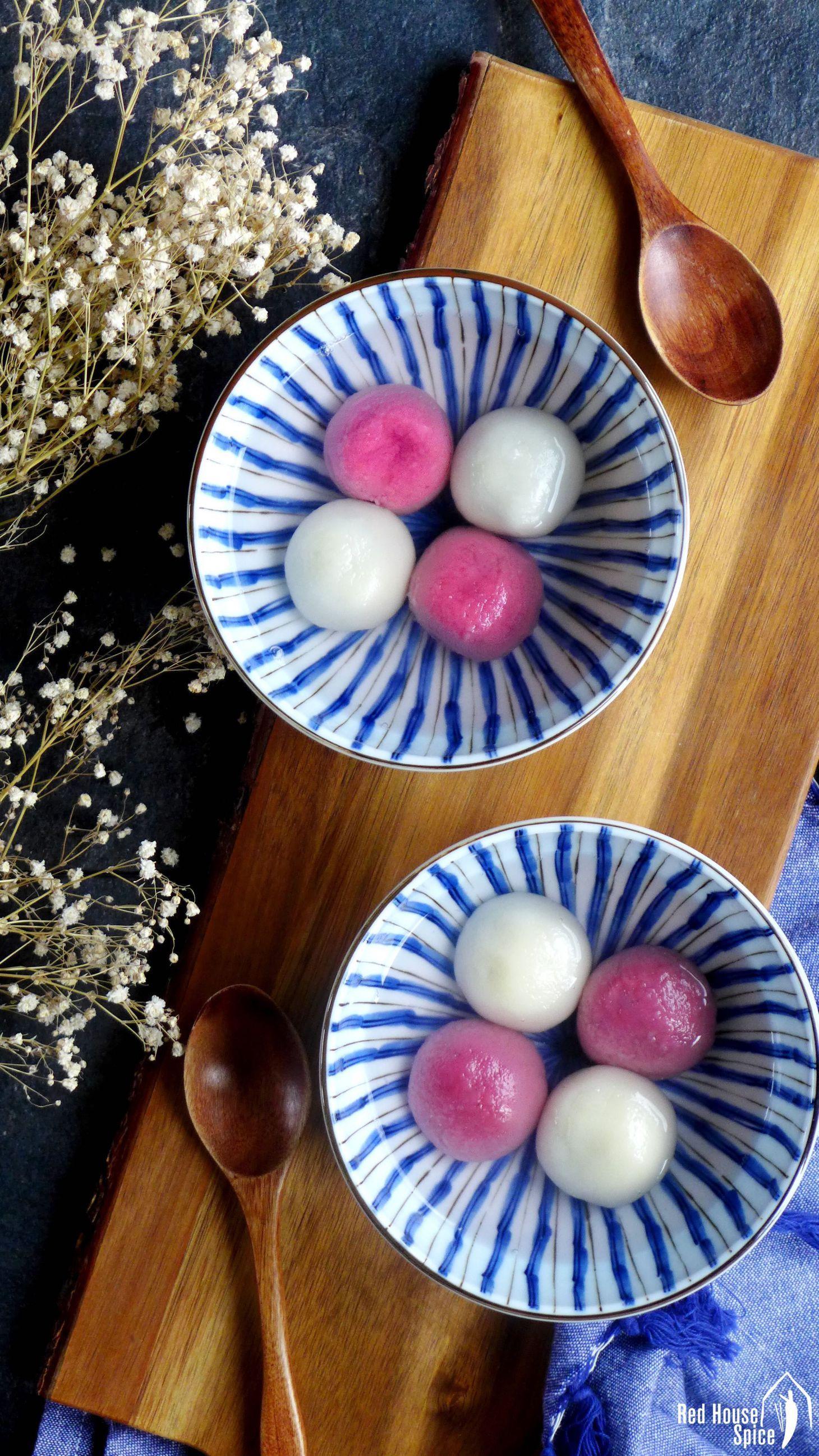 Tang Yuan, Chinese glutinous rice balls (汤圆)   Rice balls ...