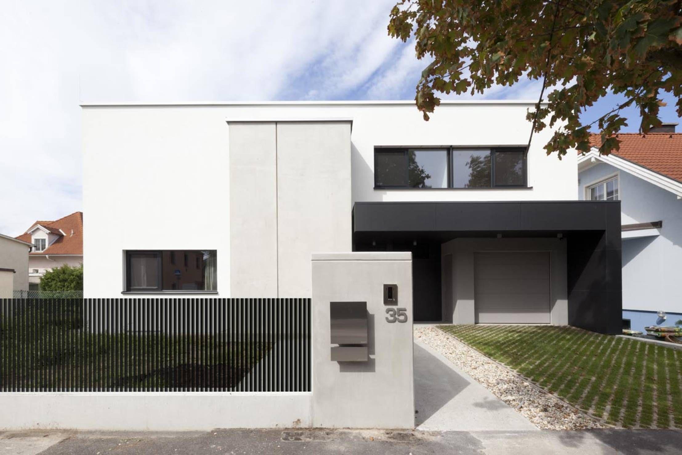 Ihr träumt vom modernen Einfamilienhaus mit puristischem Des…
