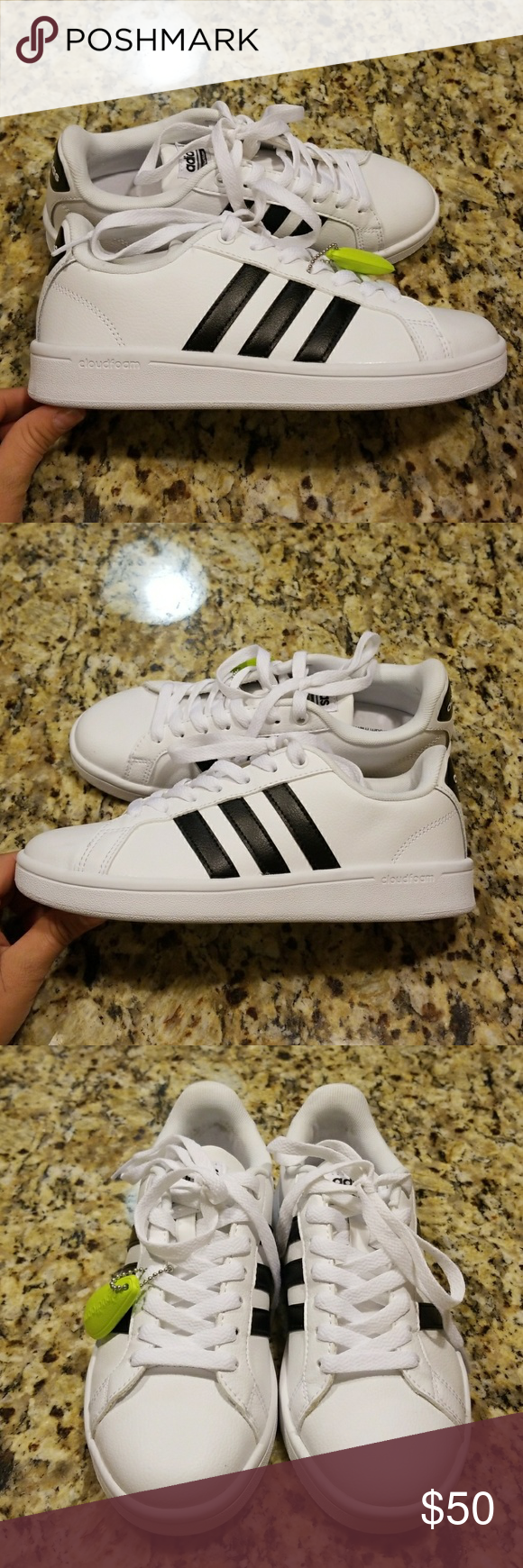 nwot donne adidas neo cloudfoam aw4287 pinterest athletic