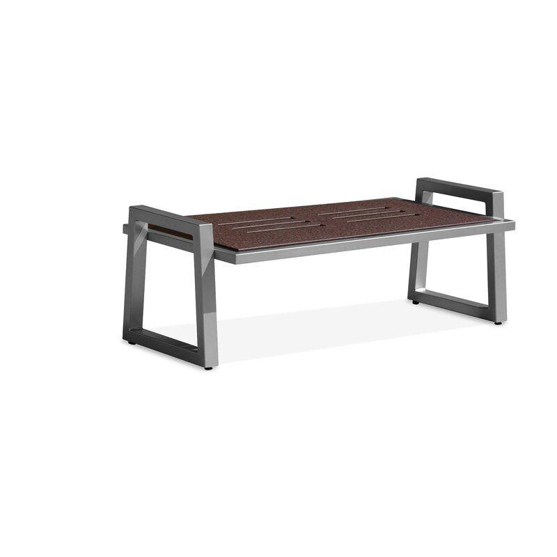 Vero Plastic Resin Coffee Table Balcony Furniture Metal Dining