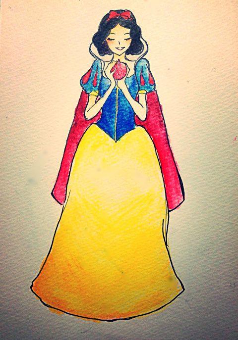 「Disney princess」/「桃井」の漫画 [pixiv]