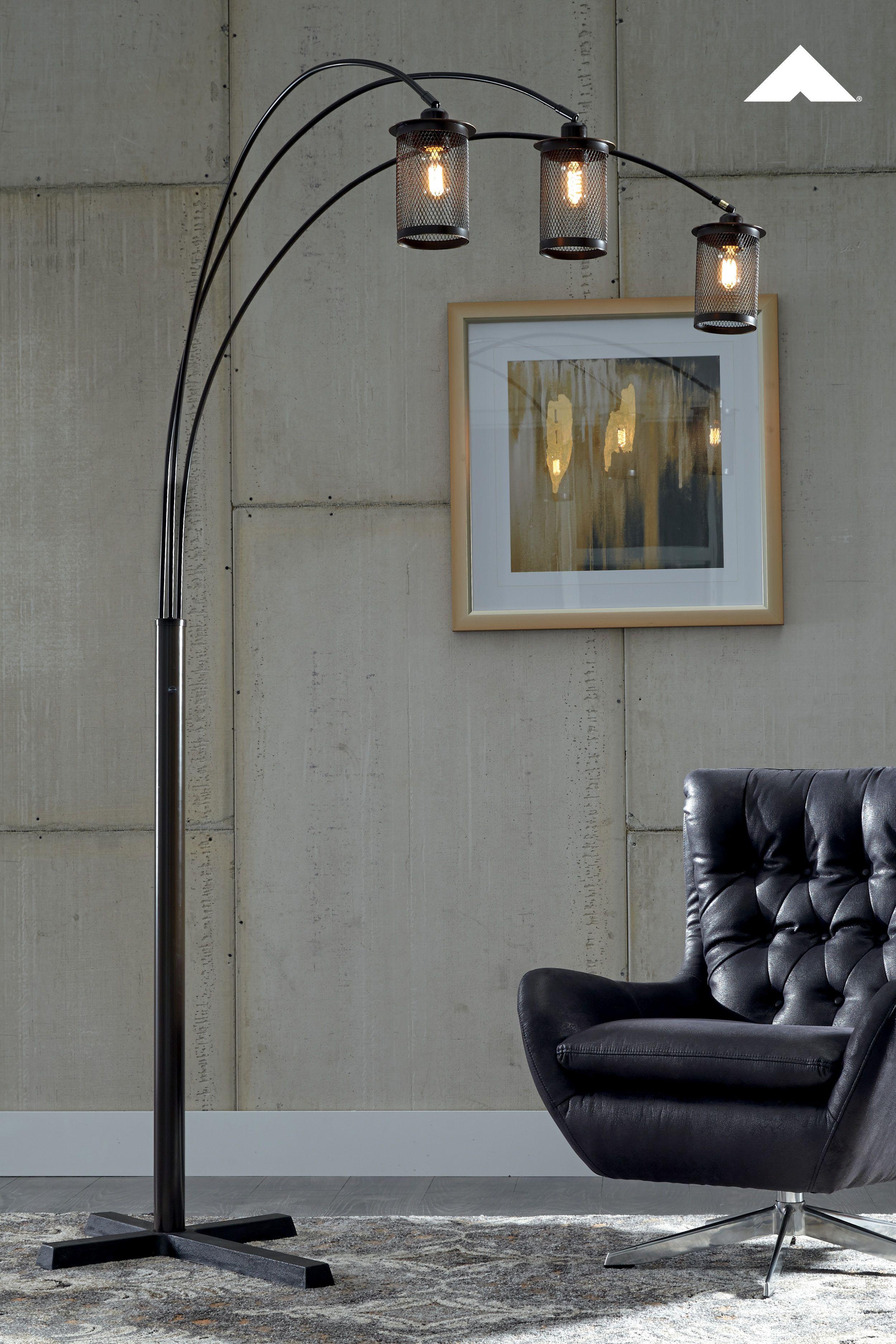 Maovesa Bronze Metal Arc Lamp The Maovesa Floor Lamp Impresses