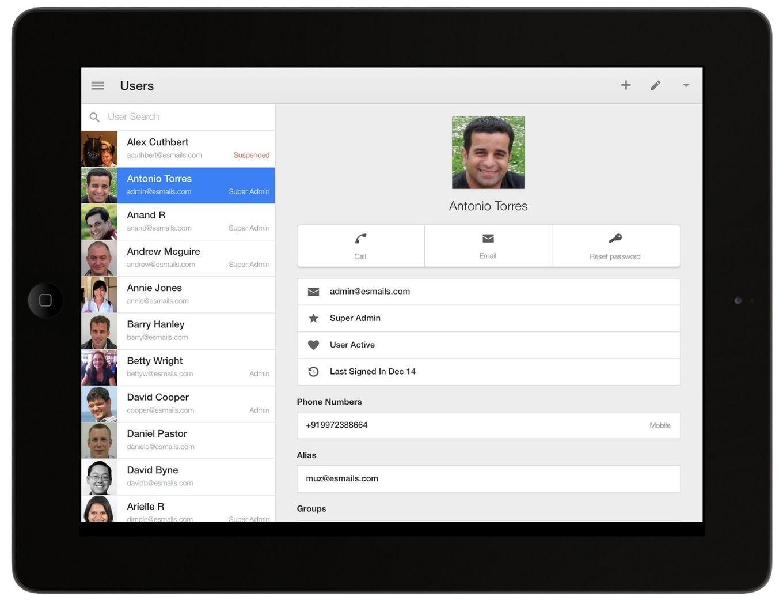 New Google Admin App for iOS Teaching, Learning