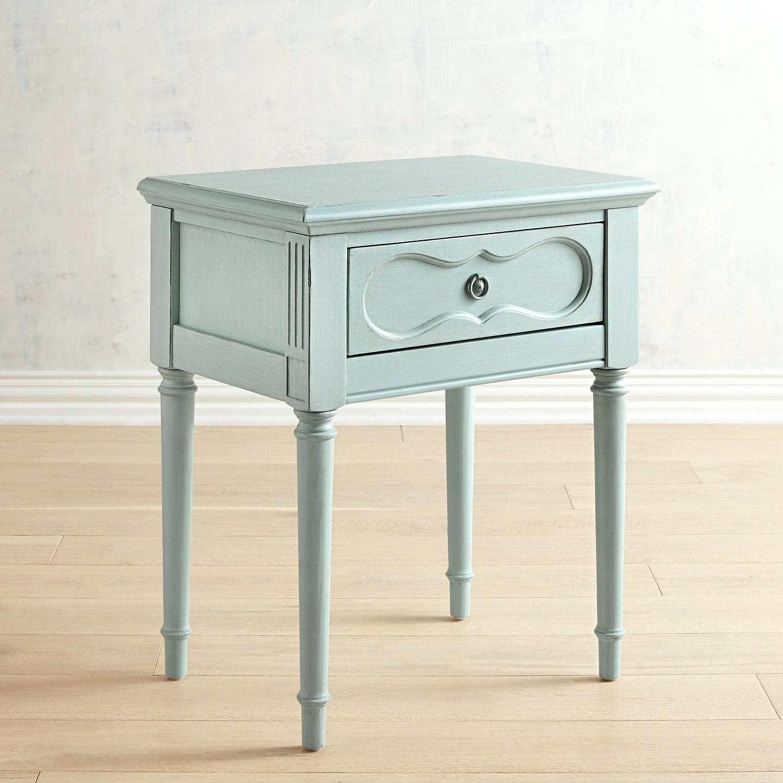 Blauer Nachttisch Kindermobel Info Nachttisch Magnolia Hauser