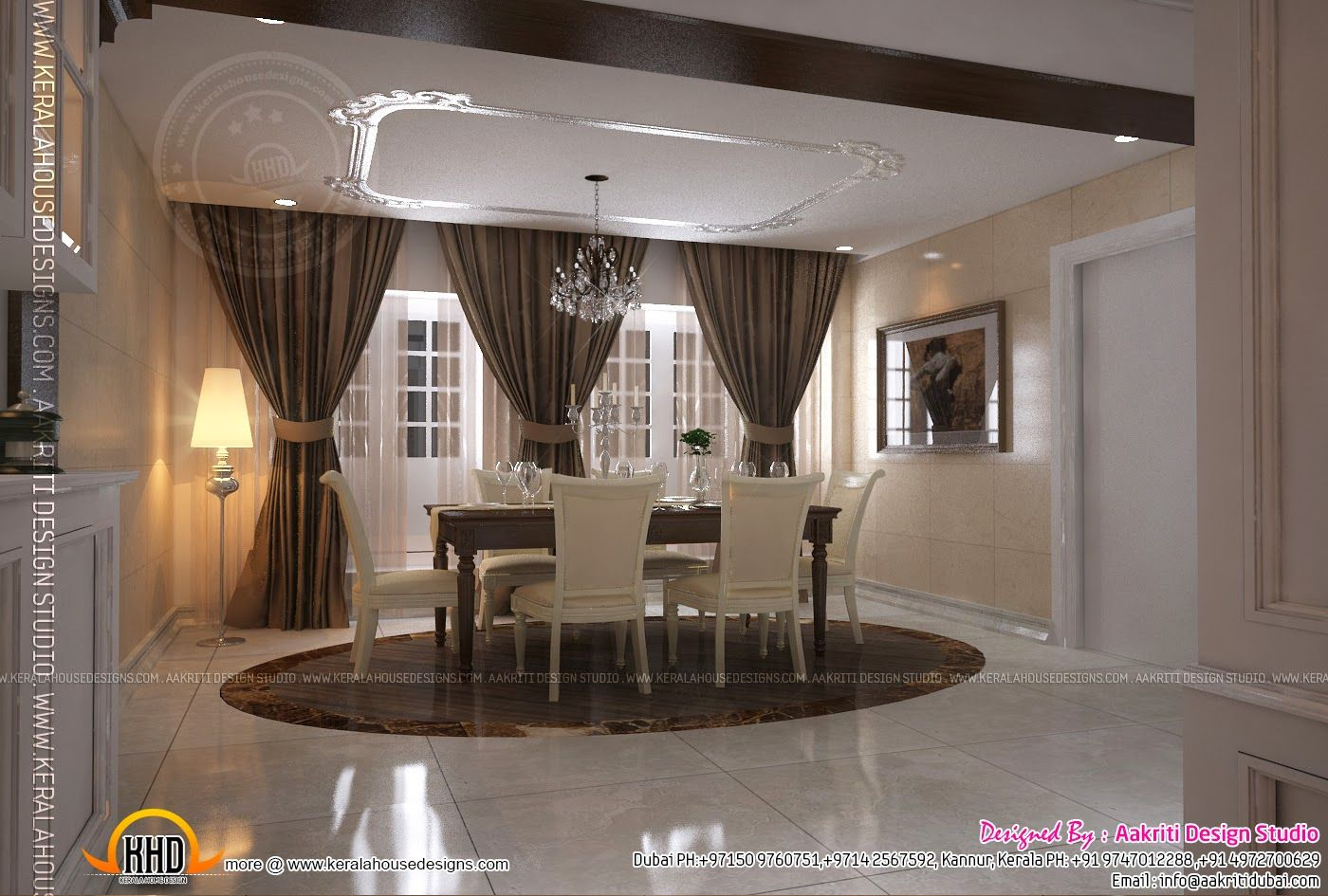 House And Rooms Worksheet Modern Home Interior Design Interior Design Dining Room House Interior Kerala home interior design dining room
