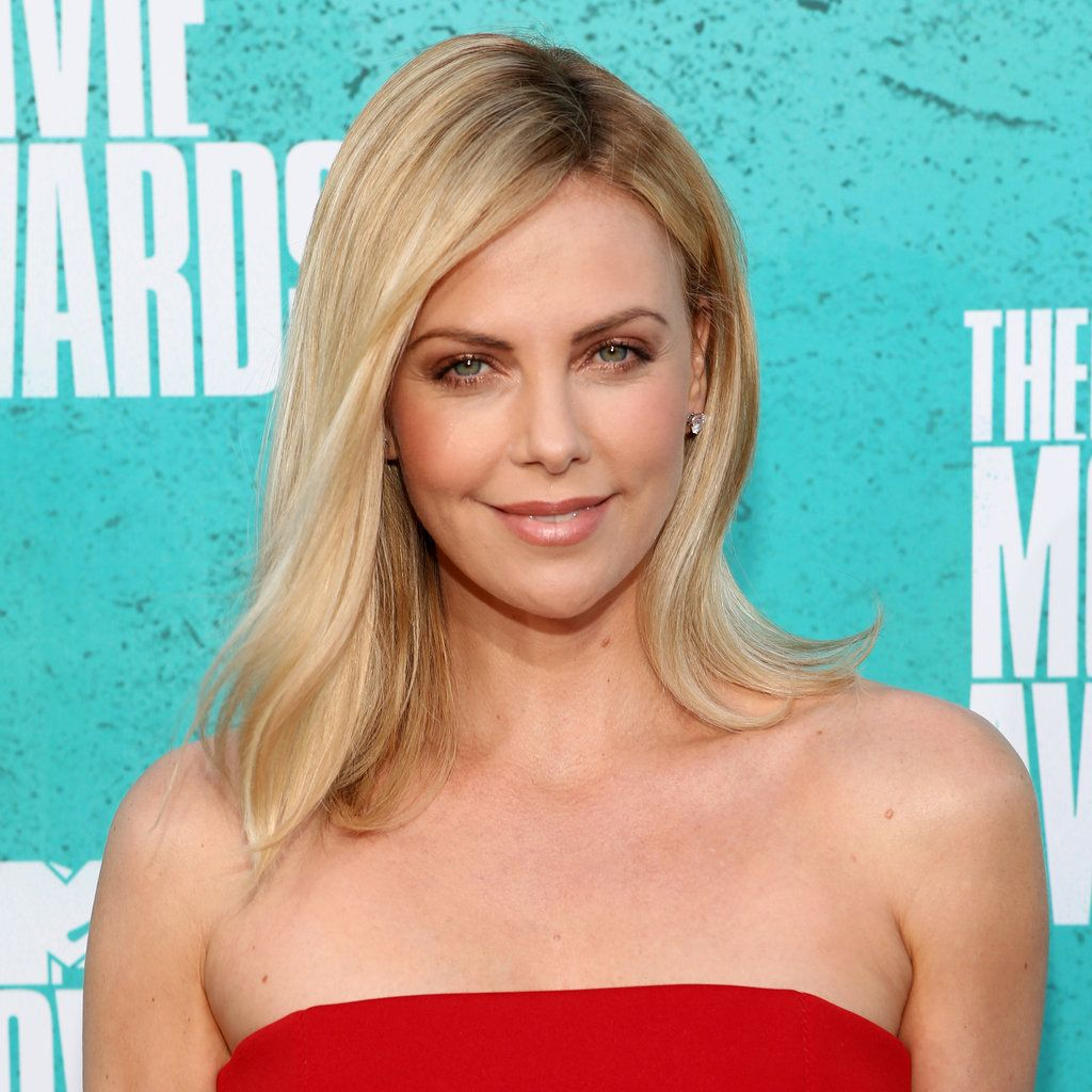 Charlize Theron Ny Blondes: Celebrity Hairstyles