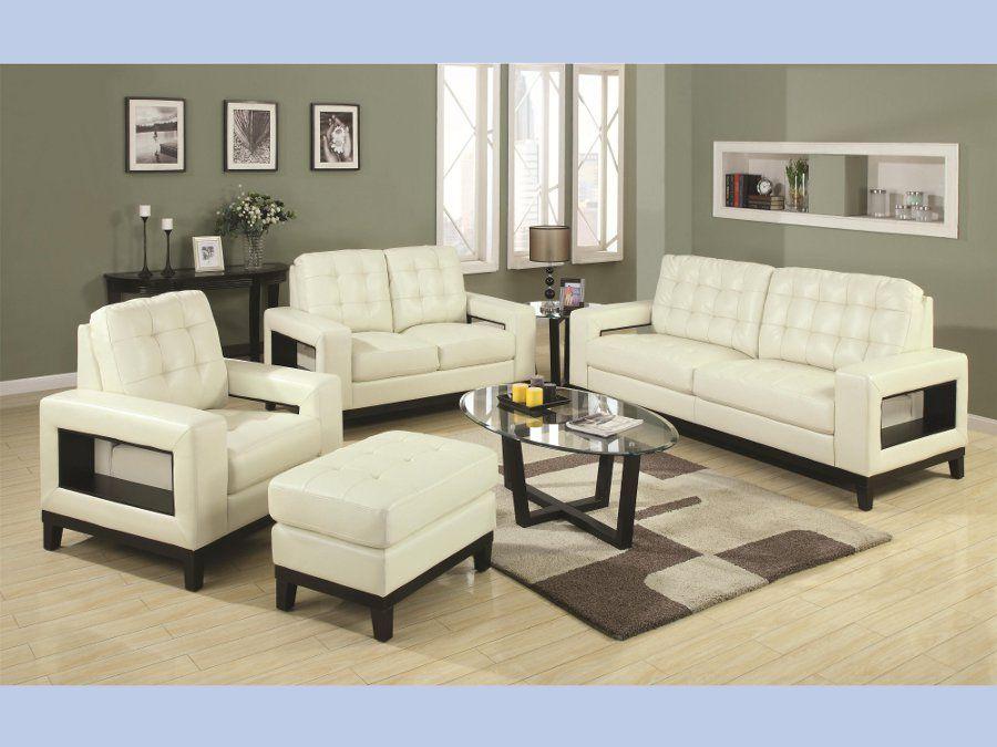 Paige Beige Contemporary Sofa Loveseat Sofa Loveseat Livingroom Rana Rana Living Room Sets Furniture Furniture Design Living Room Modern Living Room Set